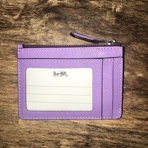 Coach Bags - Coach mini skinny ID wallet